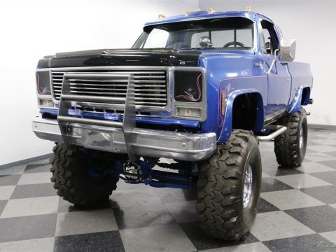very nice 1978 Chevrolet K 10 Scottsdale lifted for sale