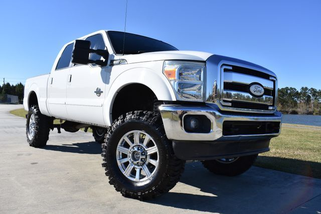 clean 2011 Ford F 250 Lariat lifted for sale