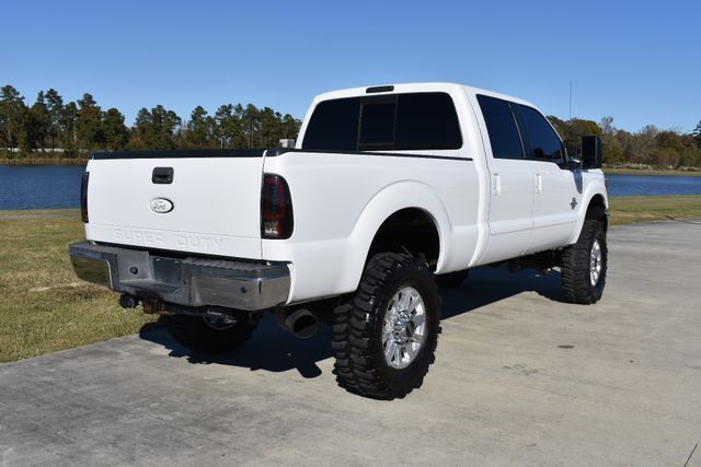 clean 2011 Ford F 250 Lariat lifted