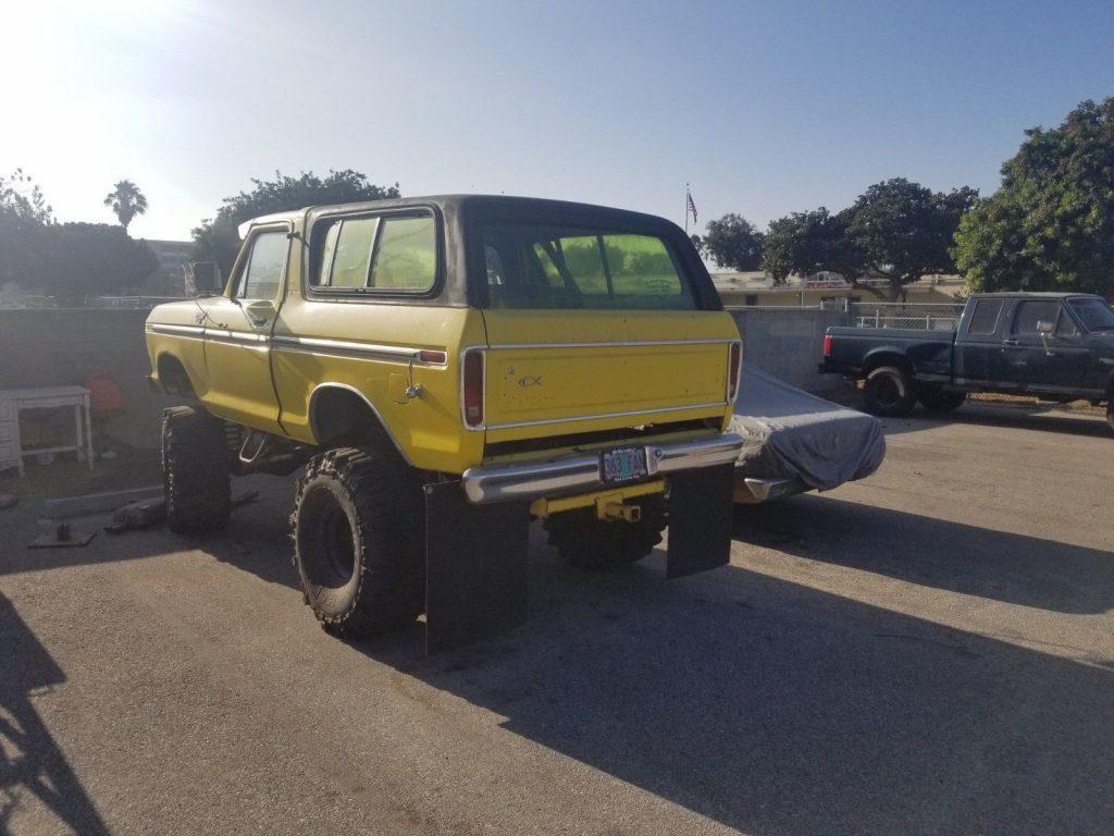 custom monster 1979 Ford Bronco Ranger lifted