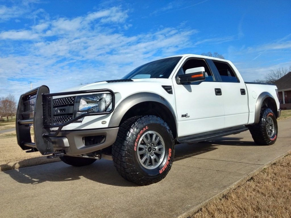 great shape 2011 Ford F 150 Raptor SVT lifted