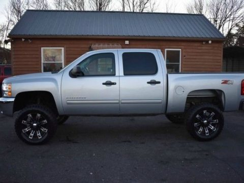 nice mileage 2012 Chevrolet Silverado 1500 lifted for sale