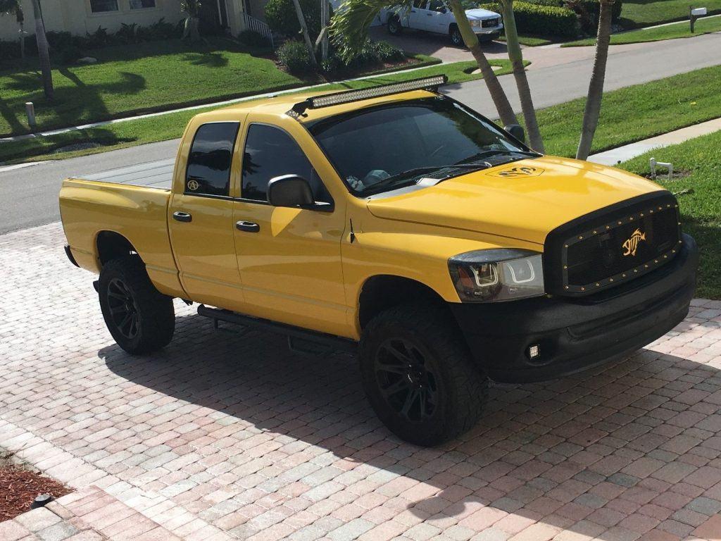 upgraded 2008 Dodge Ram 1500 SLT lifted