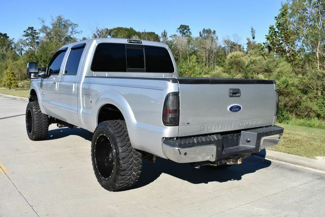 very nice 2011 Ford F 250 Lariat lifted