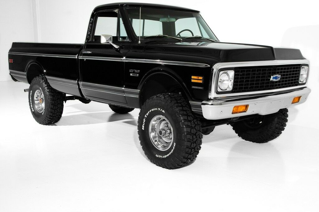 vintage 1972 Chevrolet K10 Pickup lifted for sale
