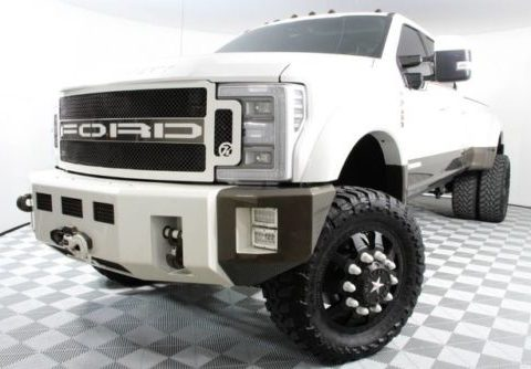 well equipped 2017 Ford F450 King Ranch pickup lifted for sale