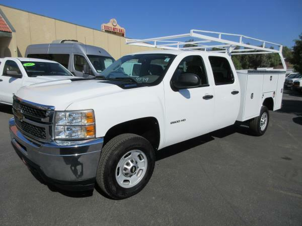 clean 2012 Chevrolet C2500 DSL crew cab lifted