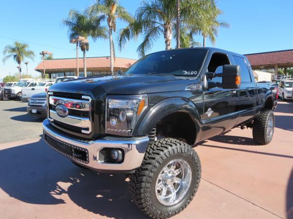 custom 2012 Ford F 250 Lariat lifted
