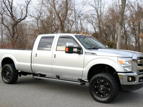 fully loaded 2012 Ford F 350 LARIAT lifted for sale