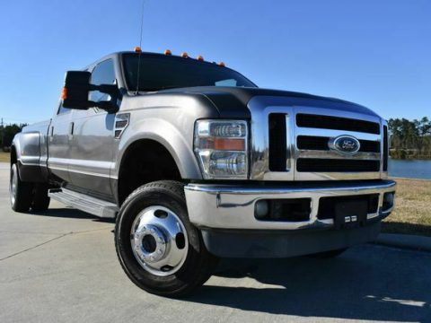 great shape 2008 Ford F350 Lariat lifted for sale