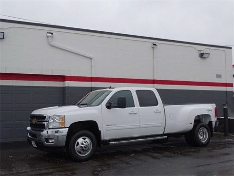 loaded 2012 Chevrolet Silverado 3500 LTZ lifted for sale