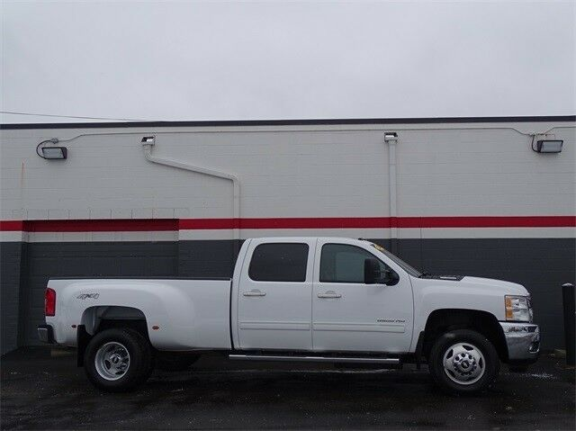 loaded 2012 Chevrolet Silverado 3500 LTZ lifted