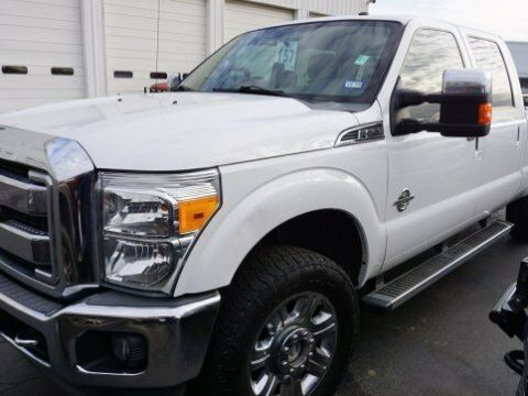 nicely equipped 2012 Ford F 250 LARIAT lifted for sale