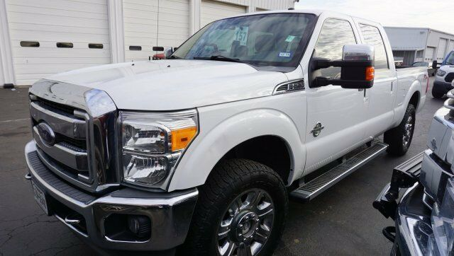 nicely equipped 2012 Ford F 250 LARIAT lifted