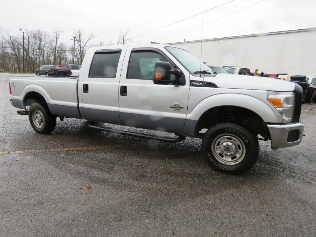 rust free 2012 Ford F 250 Powerstroke pickup lifted