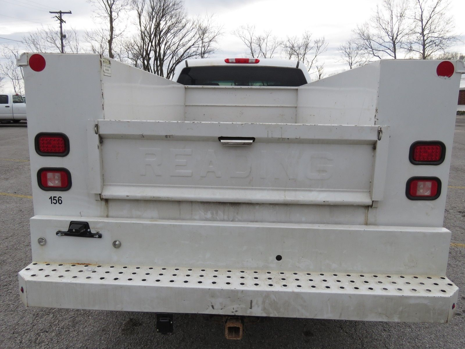utility bed 2012 Chevrolet Silverado 2500 lifted