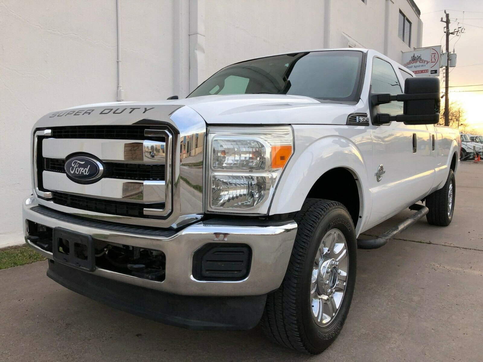 very clean 2012 Ford F 350 lifted for sale