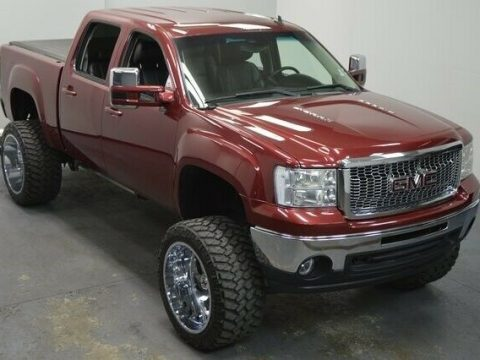 custom 2013 GMC Sierra 1500 SLT pickup lifted for sale