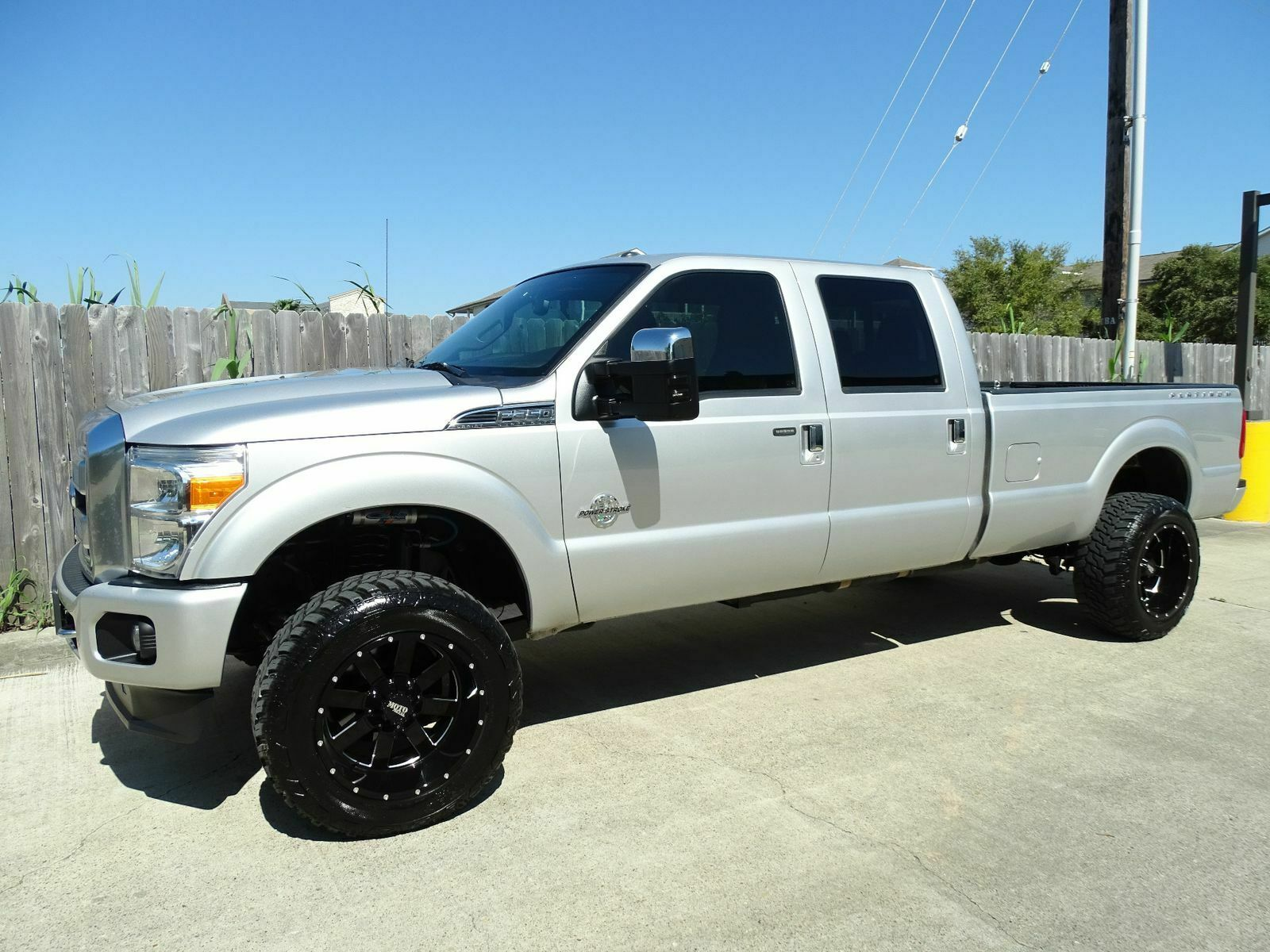 loaded 2013 Ford F 350 Lariat lifted for sale