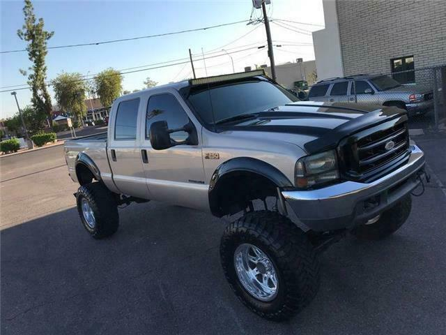 monster badass 1999 Ford F 250 XLT 7.3 DIESEL lifted for sale