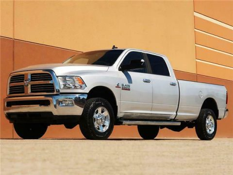 sharp and clean 2013 Dodge Ram 2500 SLT lifted for sale