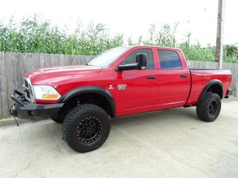 well equipped 2012 Dodge Ram 2500 ST pickup lifted for sale