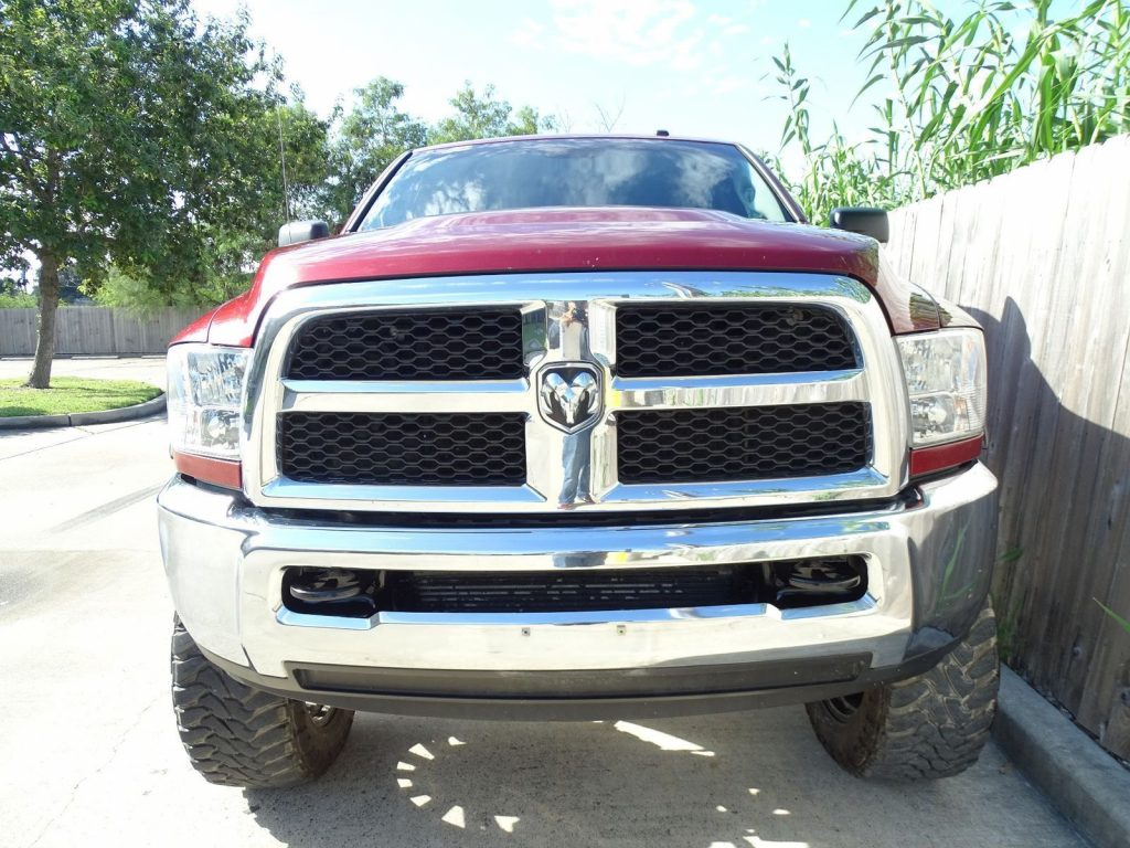 well equipped 2013 Dodge Ram 2500 Tradesman lifted