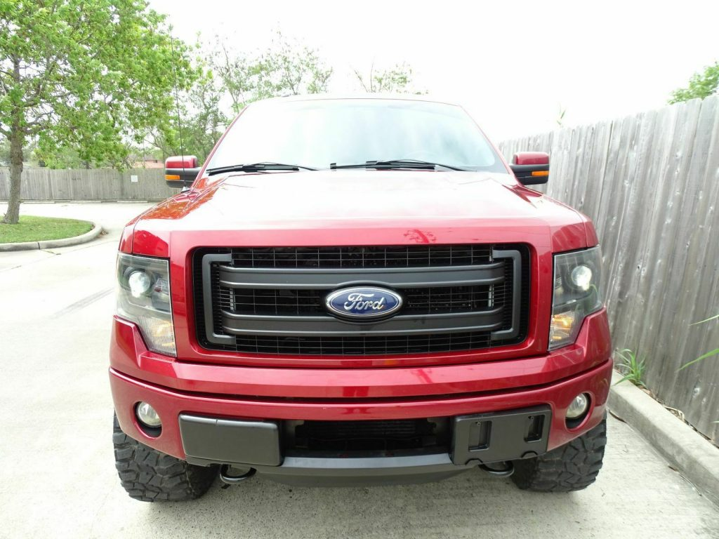 well equipped 2013 Ford F 150 FX4 lifted