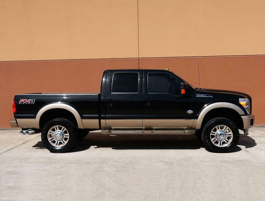 well optioned 2013 Ford F 250 KING Ranch lifted