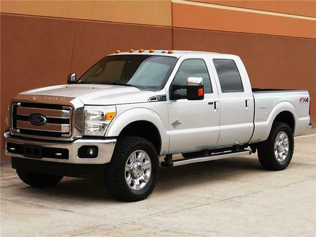 well optioned 2013 Ford F 250 Lariat lifted for sale