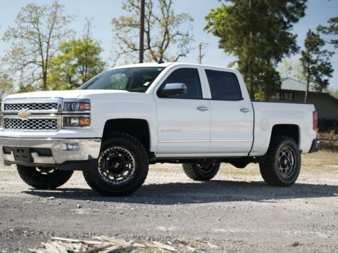 well equipped 2014 Chevrolet Silverado 1500 LTZ lifted for sale