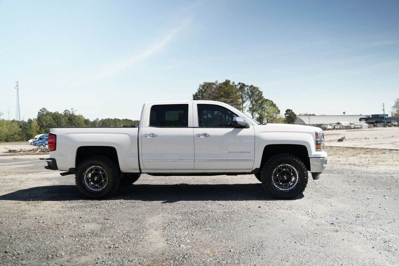 well equipped 2014 Chevrolet Silverado 1500 LTZ lifted
