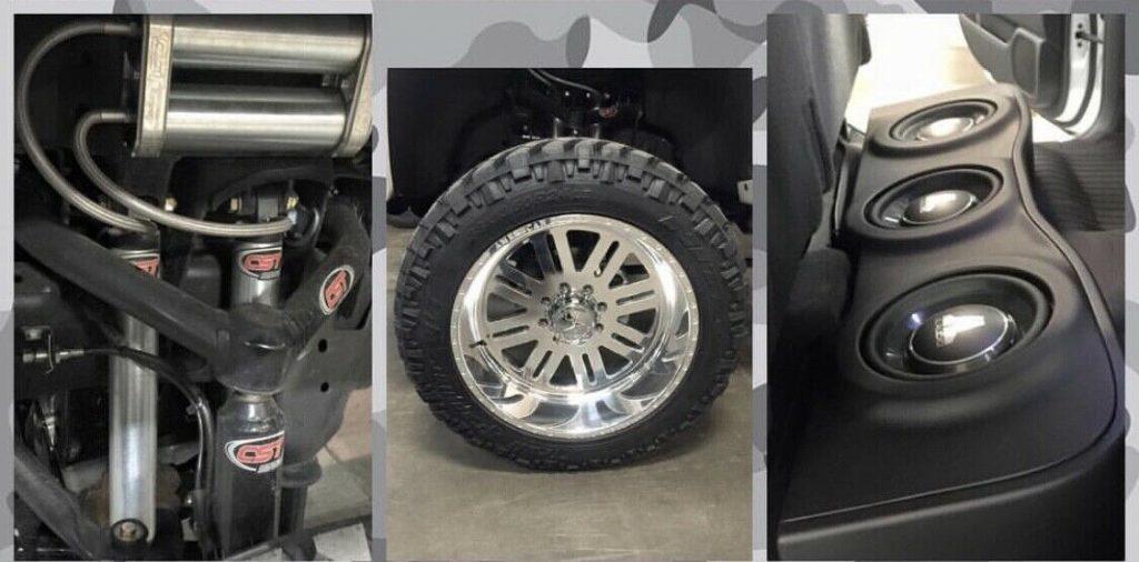 fully loaded 2015 GMC Sierra 2500 Denali lifted