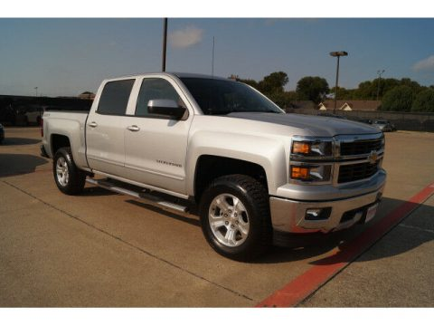 loaded 2015 Chevrolet Silverado 1500 LT lifted for sale