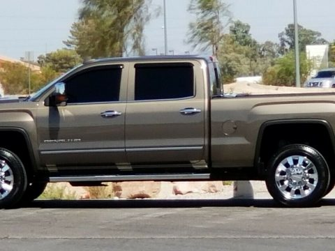 loaded 2015 GMC Sierra 2500 Denali Crew Cab lifted for sale