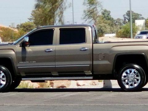 loaded 2015 GMC Sierra 2500 Denali Crew Cab lifted for sale