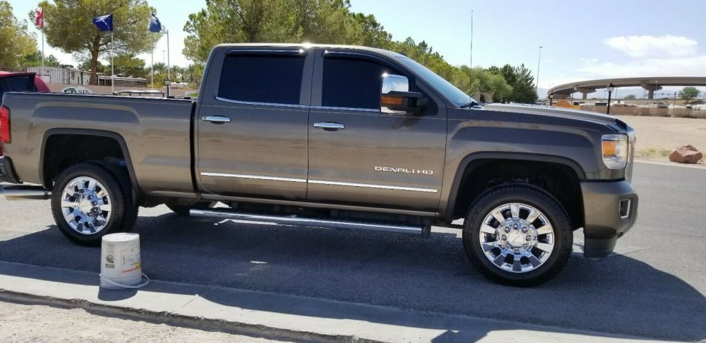 loaded 2015 GMC Sierra 2500 Denali Crew Cab lifted