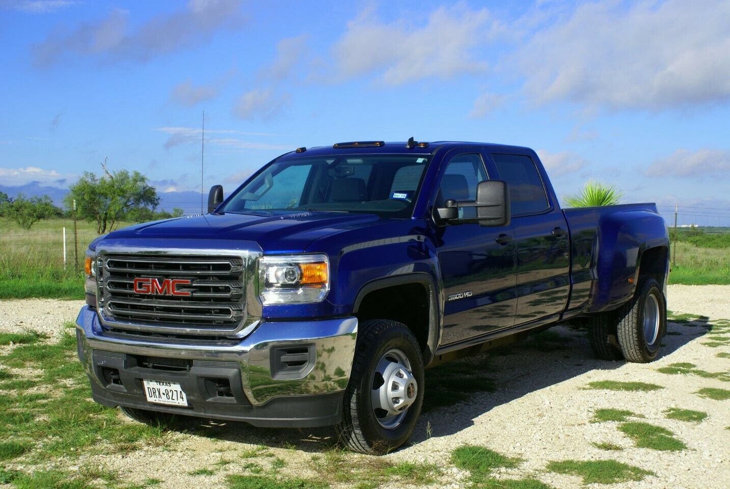 low mileage 2015 GMC Sierra 3500 lifted for sale