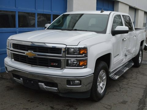needs repair 2015 Chevrolet Silverado 1500 2LT lifted for sale
