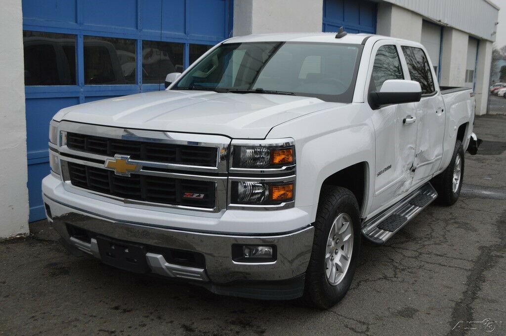 needs repair 2015 Chevrolet Silverado 1500 2LT lifted for sale