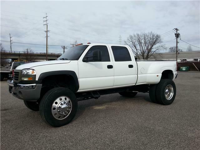 new parts 2007 GMC Sierra 3500 lifted for sale