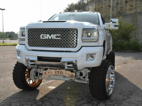 nicely customized 2015 GMC Sierra 2500 Denali lifted for sale