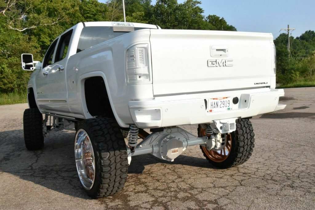 nicely customized 2015 GMC Sierra 2500 Denali lifted