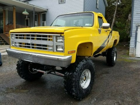 restored 1985 Chevrolet C/K Pickup 2500 K10 lifted for sale