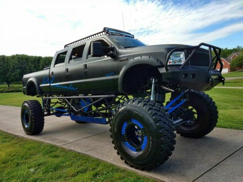 stretched 2005 Ford F 350 lifted for sale