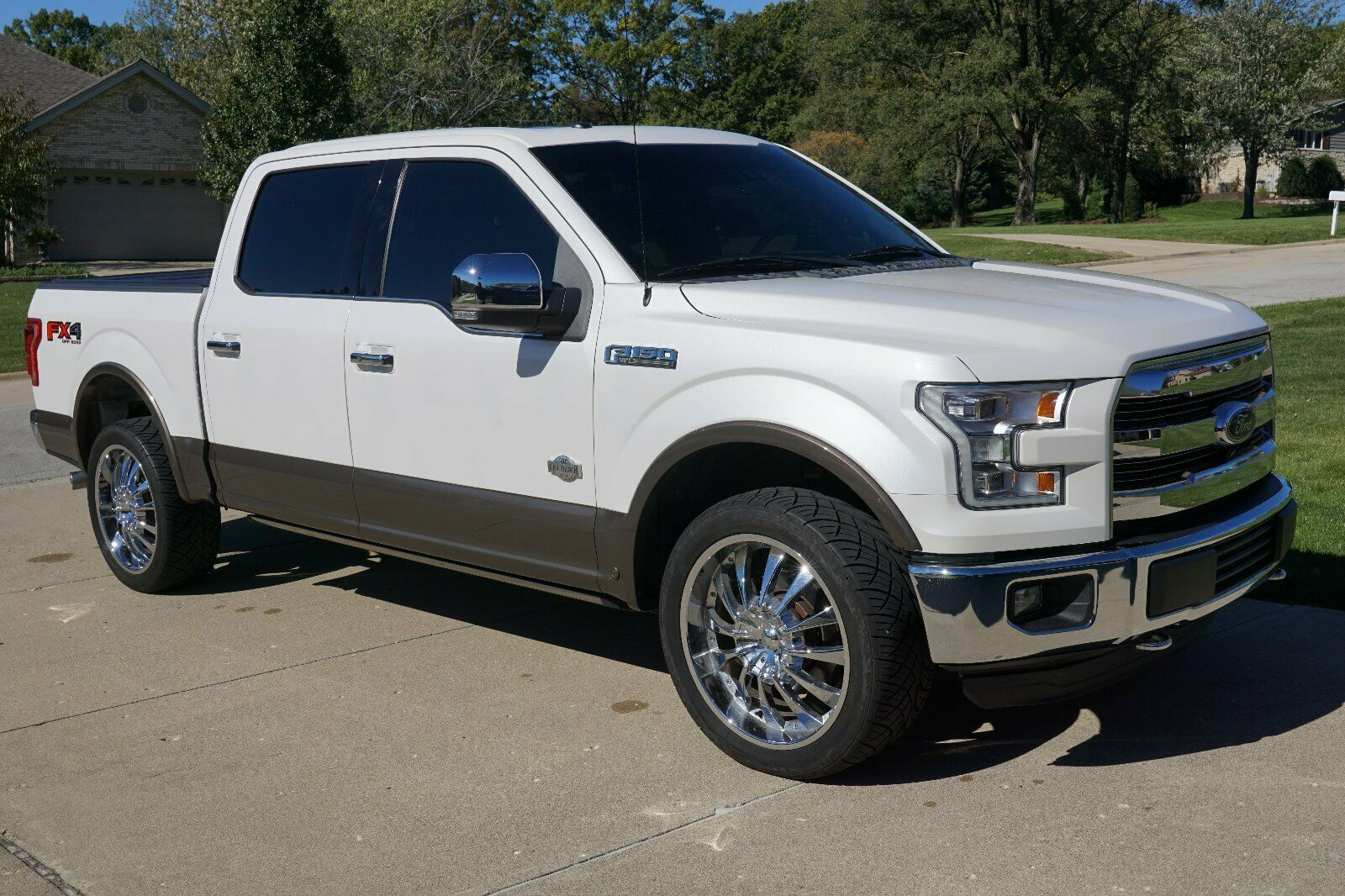 very nice 2015 Ford F 150 King Ranch lifted for sale