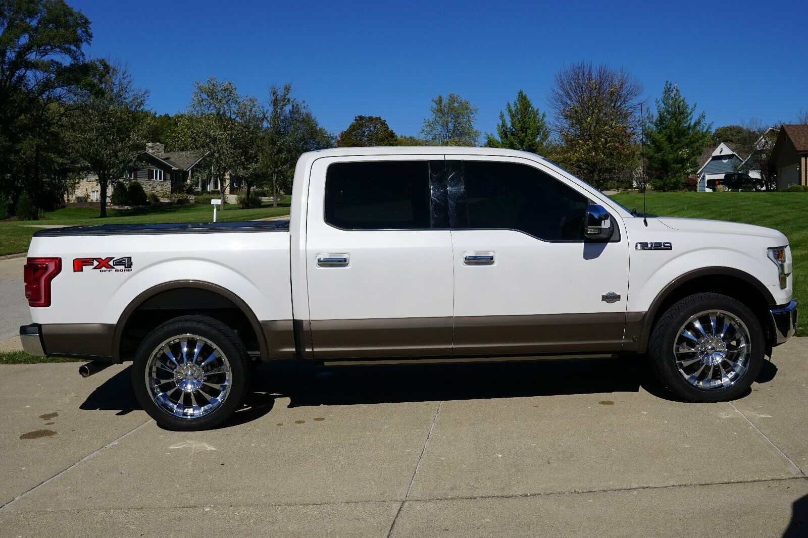 very nice 2015 Ford F 150 King Ranch lifted