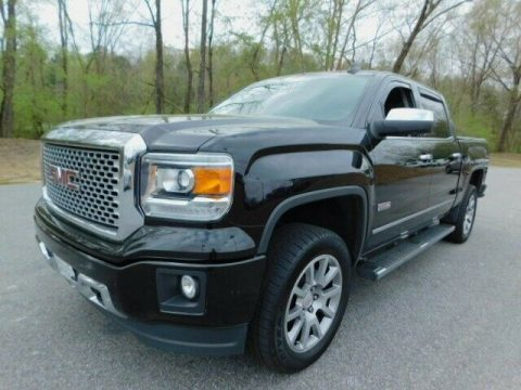 well equipped 2015 GMC Sierra 1500 SLT lifted for sale