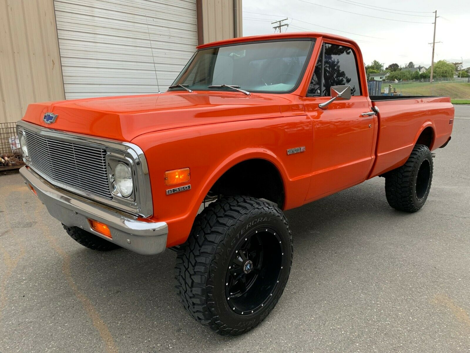 crate engine 1972 Chevrolet C 10 pickup lifted for sale