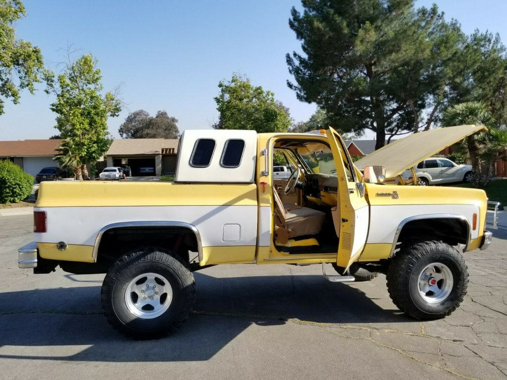 custom 1979 Chevrolet C 10 C/K 1500 Pickup lifted